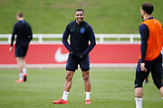 Callum Wilson (Bournemouth) during the England training session ahead of the UEFA Euro Qualifier against the Czech Repulbic, at St George's Park National Football Centre, Burton-Upon-Trent, United Kingdom on 19 March 2019.