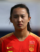 International Women's Friendly Matchs 2019 / <br /> Womens's Algarve Cup Tournament 2019 - <br /> China v Norway 1-3 ( Municipal Stadium - Albufeira,Portugal ) - <br /> HUANG YINI of China