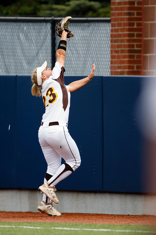 Saturday, May 21, 2016; Ann Arbor, MI: NCAA Regional Softball. Mandatory Credit: Rick Osentoski