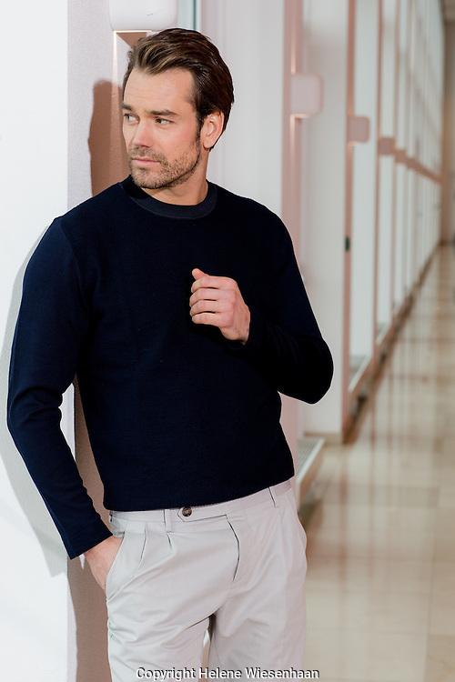 Miro Kloosterman gefotografeerd voor Man of Style voor Beaumonde, maart 2015