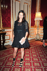 CHARLOTTE STOCKDALE at a dinner hosted by HRH Prince Robert of Luxembourg in celebration of the 75th anniversary of the acquisition of Chateau Haut-Brion by his great-grandfather Clarence Dillon held at Lancaster House, London on 10th June 2010.