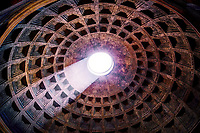 &quot;2000 year old Pantheon eye of Santa Maria&quot;...<br />
