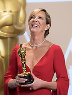 04.03.2018; Hollywood, USA: ALLISON JANNEY<br /> winner of the Best Supporting Actress at the 90th Annual Academy Awards, Dolby Theatre in Hollywood.<br /> Mandatory Photo Credit: &copy;Francis Dias/Newspix International<br /> <br /> IMMEDIATE CONFIRMATION OF USAGE REQUIRED:<br /> Newspix International, 31 Chinnery Hill, Bishop's Stortford, ENGLAND CM23 3PS<br /> Tel:+441279 324672  ; Fax: +441279656877<br /> Mobile:  07775681153<br /> e-mail: info@newspixinternational.co.uk<br /> Usage Implies Acceptance of Our Terms &amp; Conditions<br /> Please refer to usage terms. All Fees Payable To Newspix International