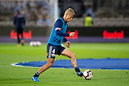 SYDNEY, AUSTRALIA - MAY 12: Melbourne Victory midfielder Keisuke Honda (4) warms up at the Elimination Final of the Hyundai A-League Final Series soccer between Sydney FC and Melbourne Victory on May 12, 2019 at Netstrata Jubilee Stadium in Sydney, Australia. (Photo by Speed Media/Icon Sportswire)