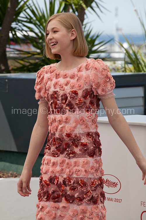 Actress Ekaterina Samsonov at the You Were Never Really Here film photo call at the 70th Cannes Film Festival Saturday 27th May 2017, Cannes, France. Photo credit: Doreen Kennedy