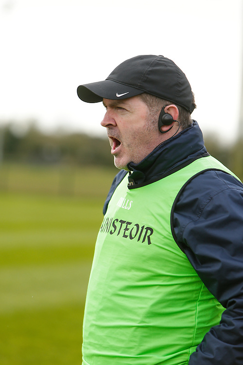 NHL Division 2B at Trim, 6th March 2016<br /> Meath vs Donegal<br /> Meath Manager, Martin Ennis<br /> Photo: David Mullen /www.cyberimages.net / 2016