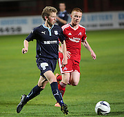 Ryan Lamond - Dundee v Aberdeen, SPFL development league<br />