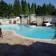 NLD/Eemnes/20060921 - Perspresentatie de Gouden Kooi, villa, zwembad, sauna
