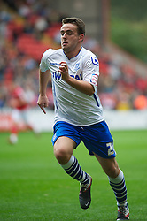LONDON, ENGLAND - Saturday, October 8, 2011: Tranmere Rovers' Jose Baxter in action against Charlton Athletic during the Football League One match at The Valley. (Pic by Gareth Davies/Propaganda)