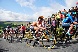 Amy Pieters (NED) on the Lofthouse climb at UCI Road World Championships 2019 Women's Elite Road Race a 149.4 km road race from Bradford to Harrogate, United Kingdom on September 28, 2019. Photo by Sean Robinson/velofocus.com
