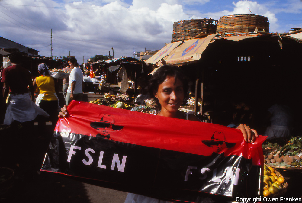 Nicaragua,woman in a market