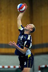 10-12-2011 VOLLEYBAL: ZAANSTAD - ABIANT LYCURGUS: ZAANSTAD<br /> Lycurgus wint vrij moeizaam met 3-2 in Zaanstad / Frank van de Outenaar<br /> ©2011-FotoHoogendoorn.nl