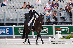 Laurentia Yen Yi Tan, (SIN), Ruben James 2 - Individual Test Grade Ia Para Dressage - Alltech FEI World Equestrian Games™ 2014 - Normandy, France.<br /> © Hippo Foto Team - Jon Stroud <br /> 25/06/14