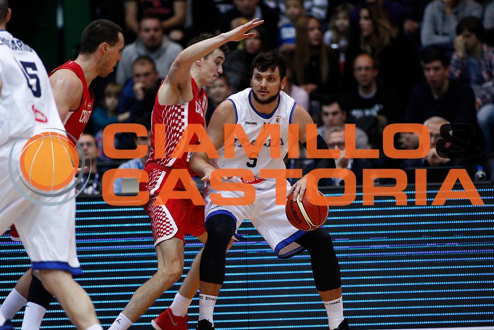 Gentile Alessandro<br /> Nazionale Italiana Maschile Senior - 2019 FIBA Basketball World Cup Qualifiers<br /> Croazia Italia Croatia Italy<br /> FIP 2017<br /> Zagabria, 26/11/2017<br /> Foto Ciamillo-Castoria / GiulioCiamillo