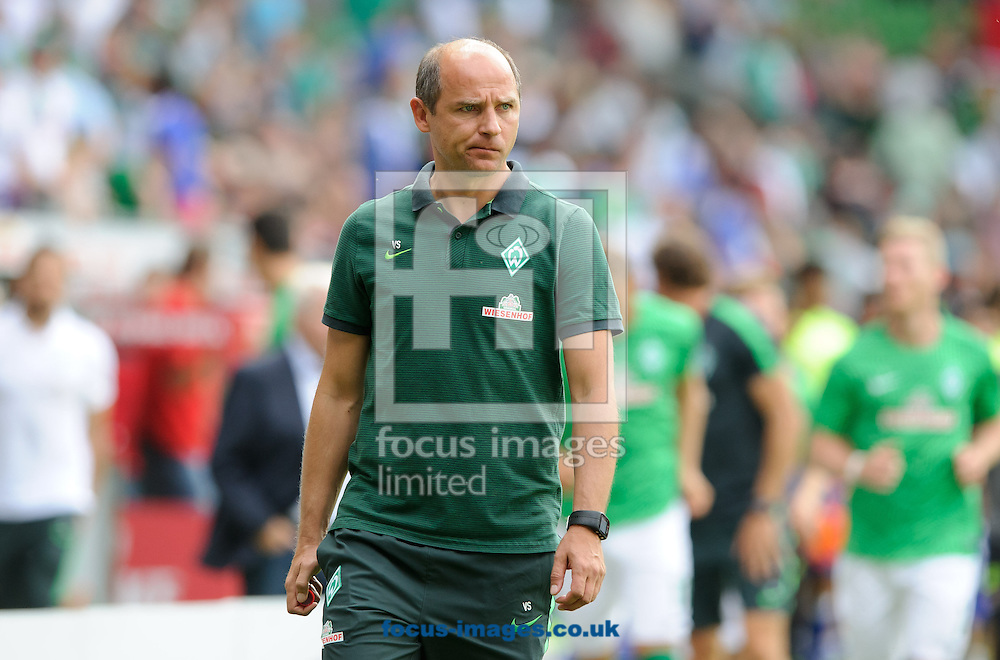 Viktor Skripnik, head coach of SV Werder Bremen during the pre season friendly match at Weserstadion, Bremen, Germany.<br /> Picture by EXPA Pictures/Focus Images Ltd 07814482222<br /> 07/08/2016<br /> *** UK &amp; IRELAND ONLY ***<br /> EXPA-EIB-160807-0252.jpg