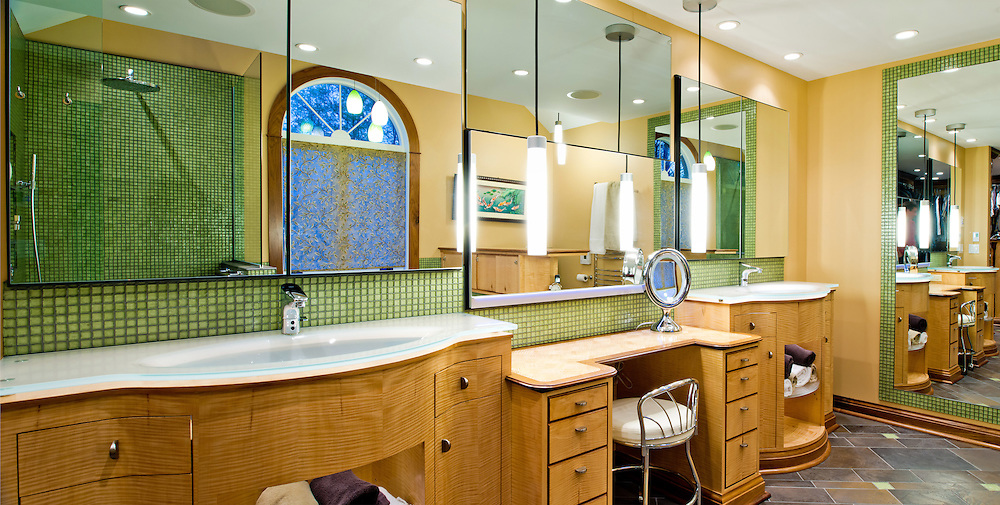 Apr. 9, 2012; Bathroom by Michael Belzowski, Belzowski Homes..Photo by Matt Cashore