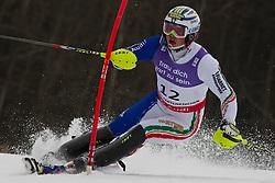19.02.2011, Gudiberg, Garmisch Partenkirchen, GER, FIS Alpin Ski WM 2011, GAP, Herren, Slalom, im Bild Giuliano Razzoli (ITA) // Giuliano Razzoli (ITA) during Men's Slalom Fis Alpine Ski World Championships in Garmisch Partenkirchen, Germany on 20/2/2011. EXPA Pictures © 2011, PhotoCredit: EXPA/ M. Gunn