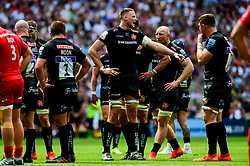 Jonny Hill of Exeter Chiefs - Mandatory by-line: Ryan Hiscott/JMP - 01/06/2019 - RUGBY - Twickenham Stadium - London, England - Exeter Chiefs v Saracens - Gallagher Premiership Rugby Final