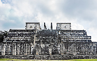 temple of the jaguar warrior of Chichen Itza in the yucatan was a Maya city and one of the greatest religious center and remains today one of the most visited archaeological sites