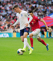 Football - 2018 / 2019 UEFA European Championships Qualifier - Group A: England vs. Bulgaria<br /> <br /> Mason Mount making his Debut as a second half substitute, at Wembley Stadium.<br /> <br /> COLORSPORT/ANDREW COWIE