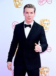 Will Poulter attending the Virgin Media BAFTA TV awards, held at the Royal Festival Hall in London.