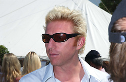 """BORIS BECKER at a luncheon hosted by Cartier at the 2005 Goodwood Festival of Speed on 26th June 2005.  Cartier sponsored the """"Style Et Luxe' for vintage cars on the final day of this annual event at Goodwood House, West Sussex. <br /><br />NON EXCLUSIVE - WORLD RIGHTS"""