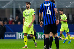 November 26, 2019, Milano, Italy: bruno petkovic (gnk dinamo zagreb)during Tournament round - Atalanta vs Dinamo Zagreb , Soccer Champions League Men Championship in Milano, Italy, November 26 2019 - LPS/Francesco Scaccianoce (Credit Image: © Francesco Scaccianoce/LPS via ZUMA Wire)