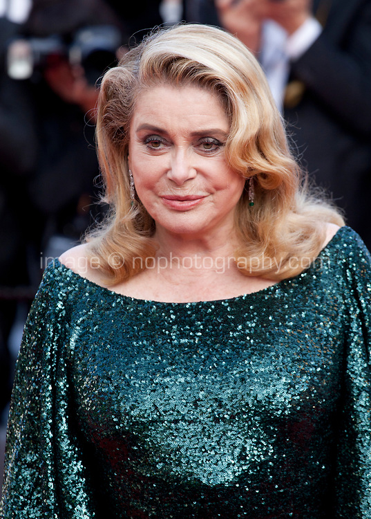 Actress Catherine Deneuve at the closing ceremony and The Specials film gala screening at the 72nd Cannes Film Festival Saturday 25th May 2019, Cannes, France. Photo credit: Doreen Kennedy