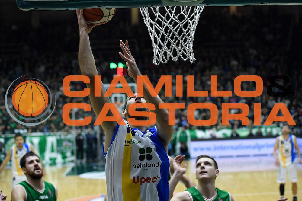Delas Mario<br /> Sidigas Avellino - Betaland Capo D'Orlando<br /> Lega Basket Serie A 2016/2017<br /> Avellino 27/12/2016<br /> Foto Ciamillo-Castoria