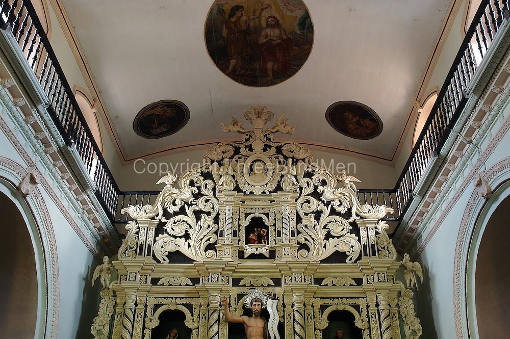 Church dedicated to St. John the Baptist..Modera Road,.Mutwal, Colombo 15..July 2004