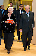 King Albert II and Queen Paola inaugurate the new wing of the Music Chapel