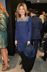 NICOLE HAMBRO at the opening of the new Gismondi Jewellery boutique, 14 Albermarle Street, London on 9th October 2014.