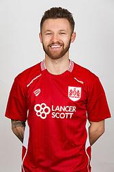 Matty Taylor of Bristol City - Rogan Thomson/JMP - 02/02/2017 - FOOTBALL - Failand Training Ground - Bristol, England - Bristol City Headshots 2016/17.