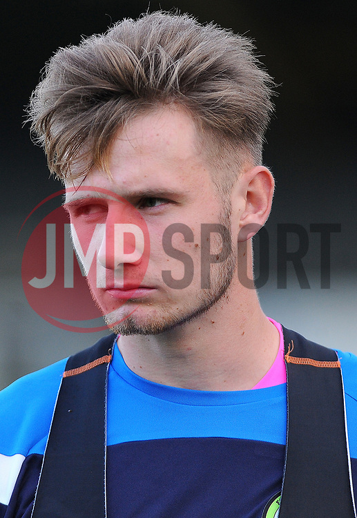 Bradley Collins of Forest Green Rovers looks on - Mandatory by-line: Nizaam Jones/JMP - 28/10/2017 - FOOTBALL - New Lawn Stadium - Nailsworth, England - Forest Green Rovers v Morecambe - Sky Bet League Two