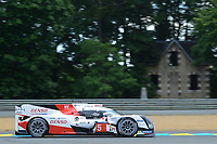 Anthony Davidson (GBR) / Sebastien Buemi (CHE) / Kazuki Nakajima (JPN) #5 Toyota Gazoo Racing Toyota TS050 Hybrid,  during Le Mans 24 Hr June 2016 at Circuit de la Sarthe, Le Mans, Pays de la Loire, France. June 15 2016. World Copyright Peter Taylor/PSP. Copy of publication required for printed pictures.  Every used picture is fee-liable. http://archive.petertaylor-photographic.co.uk