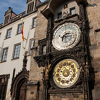 If you can't find the astronomical clock, just look for the most crowded place in Prague ;-). The medieval clock was build by the clockmaker Mikulas of Kadan in the year 1410. The calendar dial, small gothic sculptures, decorations, the moving figures and several other modifications were added later, until 1866.