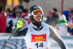 19.12.2011, Gran Risa, Alta Badia, ITA, FIS Weltcup Ski Alpin, Herren, Slalom, im Bild Felix Neureuther (GER) jubelt nach dem 2. Durchgang // Felix Neureuther of Germany reacts after his 2nd run during men's Slalom at FIS Ski Alpine Worldcup at Gran Risa in Alta Badia, Italy on 2011/12/19. EXPA Pictures © 2011, PhotoCredit: EXPA/ Johann Groder