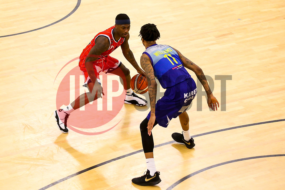 Jalan McCloud of Bristol Flyers - Photo mandatory by-line: Robbie Stephenson/JMP - 29/03/2019 - BASKETBALL - English Institute of Sport - Sheffield, England - Sheffield Sharks v Bristol Flyers - British Basketball League Championship