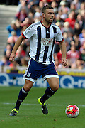 West Bromwich Albion forward Rickie Lambert during the Barclays Premier League match between Stoke City and West Bromwich Albion at the Britannia Stadium, Stoke-on-Trent, England on 29 August 2015. Photo by Aaron Lupton.