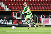 Forest Green Rovers Charlie Cooper(15) during the EFL Trophy match between Swindon Town and Forest Green Rovers at the County Ground, Swindon, England on 5 December 2017. Photo by Shane Healey.