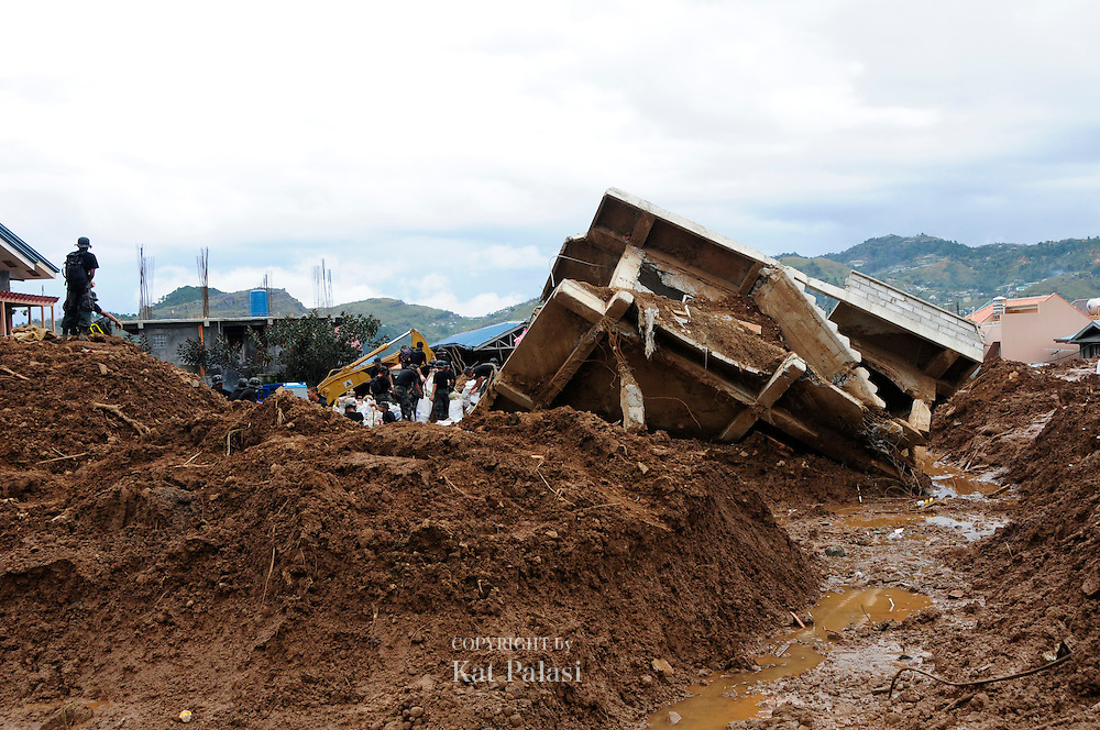 In 2009,Typhoon Pepeng hit Northern Luzon and caused the massive landslides in Little Kibungan, La Trinidad, Benguet.many deaths were reported after houses were swept away and buried in mud.