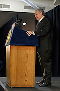 Seaford, New York, USA. 3rd June 2015. Nassau County Executive ED MANGANO, a Republican, speaks at an event in support of extending the NY Property Tax Cap. At the bi-partisan event at Knights of Columbus Hall, over a hundred area residents and officials, and the Governer, a Democrat, urged an extension of the property tax cap before the state legislative session ends on June 17. The NY Property Tax Cap is set to expire June 2016, but is legally linked to NYC rent-control regulations set to expire this month.
