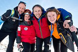 Awesome team at the Banked Slalom, 2015 IPC Snowboarding World Championships, La Molina, Spain