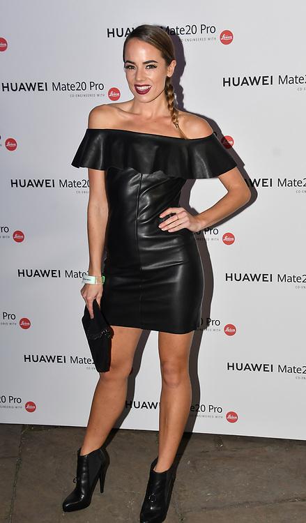 Emma Conybeare attend Huawei - VIP celebration at One Marylebone London, UK. 16 October 2018.
