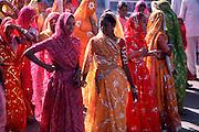 Women in Rajasthan.