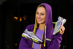 Repro Free: 05/03/2013.Pictured at the launch of the New Balance Gear lending initiative in The Westin Dublin is model Roz Purcell, who will lead approximately 50 associates, guests and friends of the hotel on a 5k run around the city in aid of children's charity Barretstown. For just ?5, guests of The Westin Dublin can now borrow running shoes with disposable insoles, as well as a variety of men's and women's New Balance apparel, enabling more travellers to stay healthy and fit on the road.  www.thewestindublin.com Picture Andres Poveda.