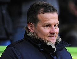 Forest Green Rovers manager Mark Cooper looks on -Mandatory by-line: Nizaam Jones/JMP - 18/11/2017 - FOOTBALL - New Lawn Stadium - Nailsworth, England - Forest Green Rovers v Crewe Alexandre-Sky Bet League Two