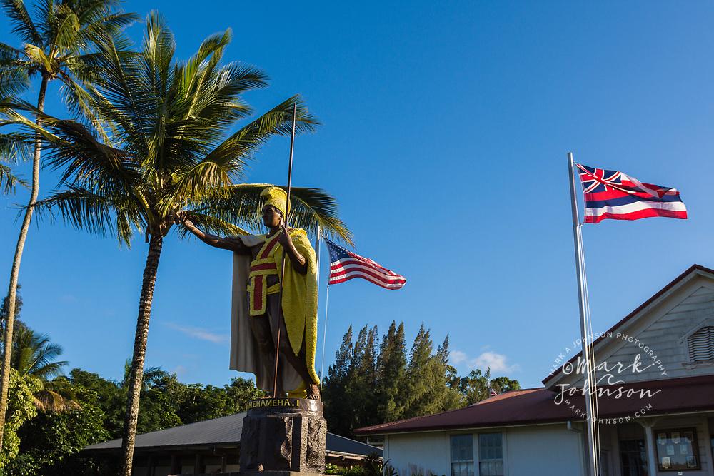King Kamehameha Statue, Kapa'au, Big Island, Hawaii