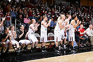 January 7, 2010: The Southern Nazarene University Crimson Storm play against the Oklahoma Christian University Lady Eagles at the Eagles Nest on the campus of Oklahoma Christian University.