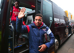 Korey Smith of Bristol City arrives at Vicarage Road for the FA Cup tie against Watford - Mandatory by-line: Robbie Stephenson/JMP - 06/01/2018 - FOOTBALL - Vicarage Road - Watford, England - Watford v Bristol City - Emirates FA Cup third round proper
